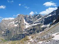 Walls of Cirque de Gavarnie