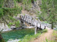 Davis Peak bridge