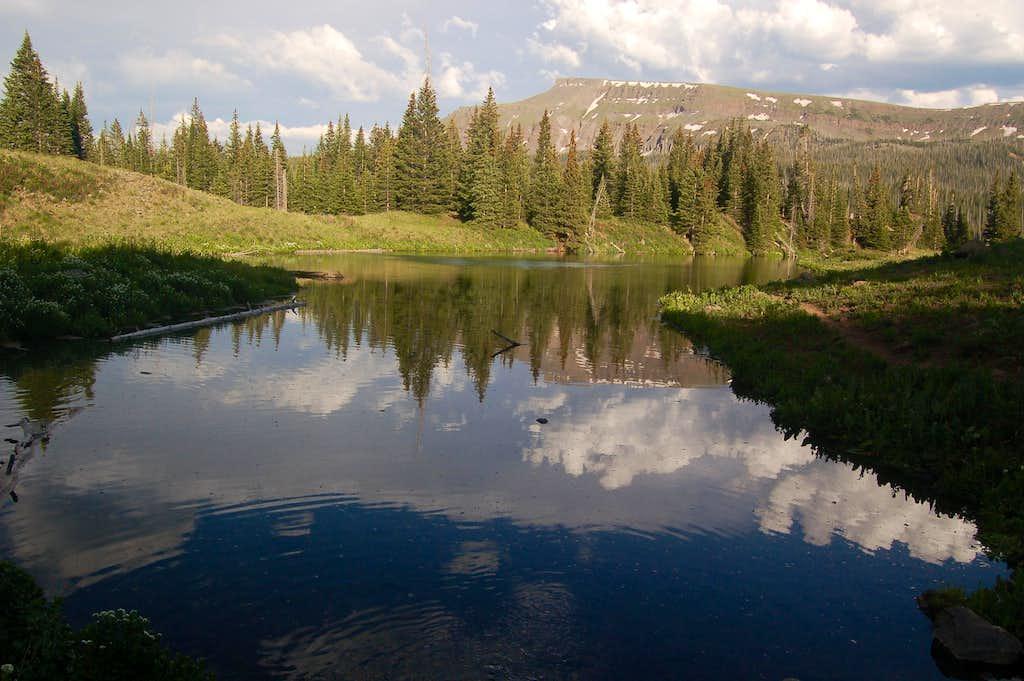 Flat Top Mountain, Flat Tops Wilderness