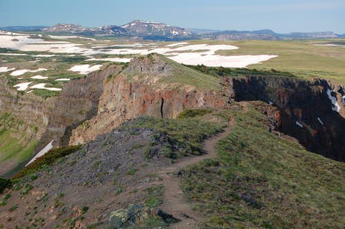 The Devils Causeway, Flat Tops Wilderness