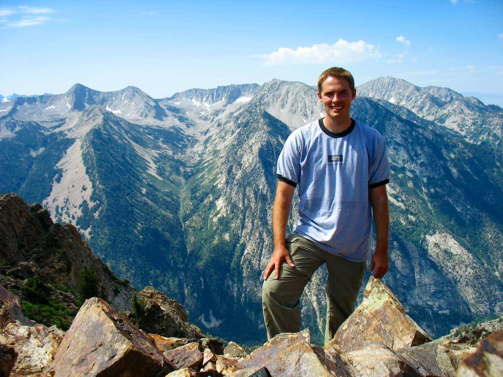 Alpine Ridge behind Brandon