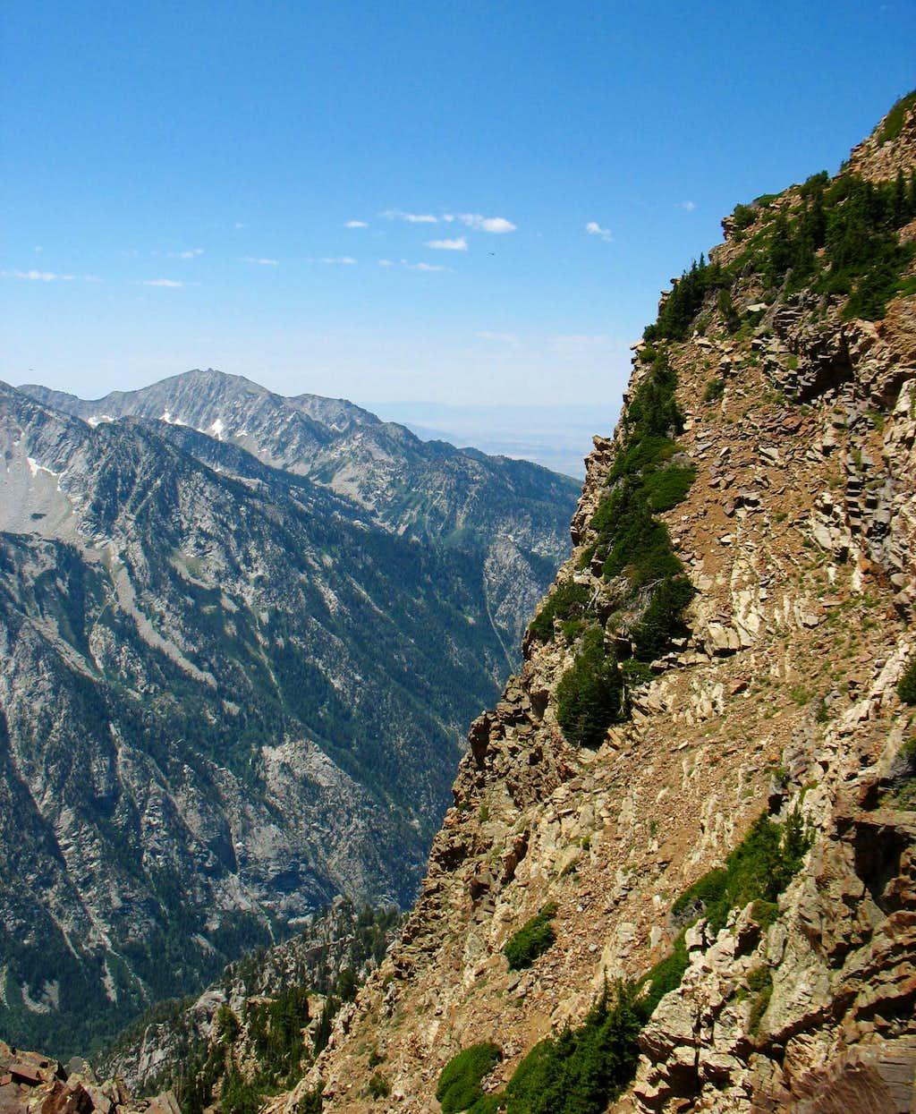 Lone Peak & Twin Peaks Eastern Ridge