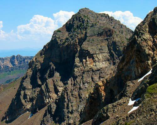 Dromedary Peak from Talus Field