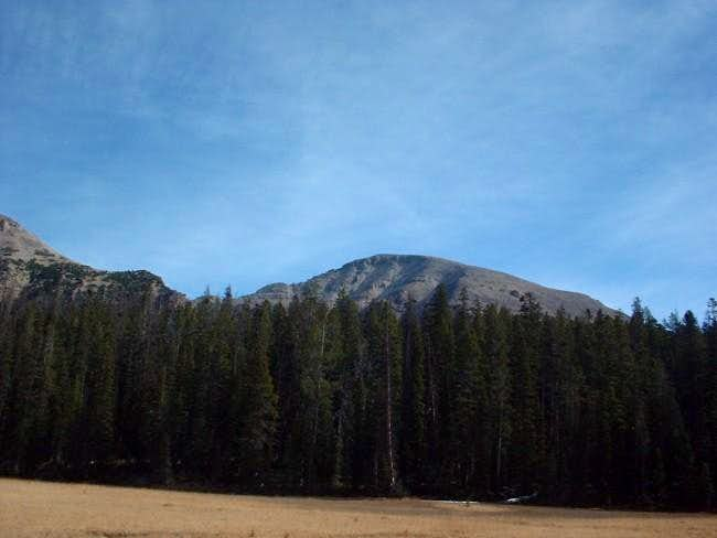 Mt/. Agassiz as seen from the...