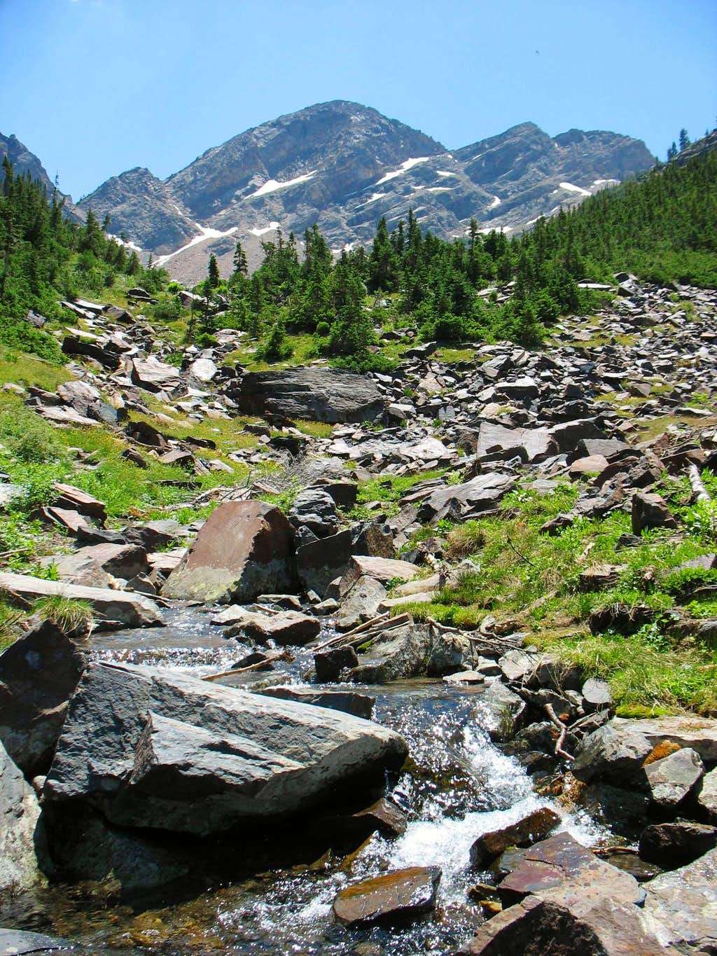 Stream Below Sunrise Peak