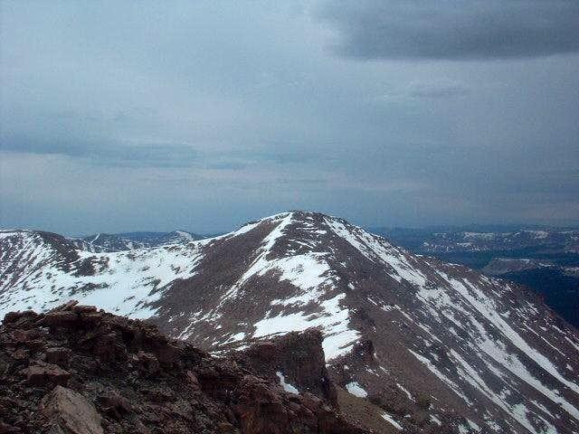 South Kings peak as seen from...
