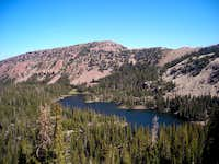 Cuberant Lake and Peak