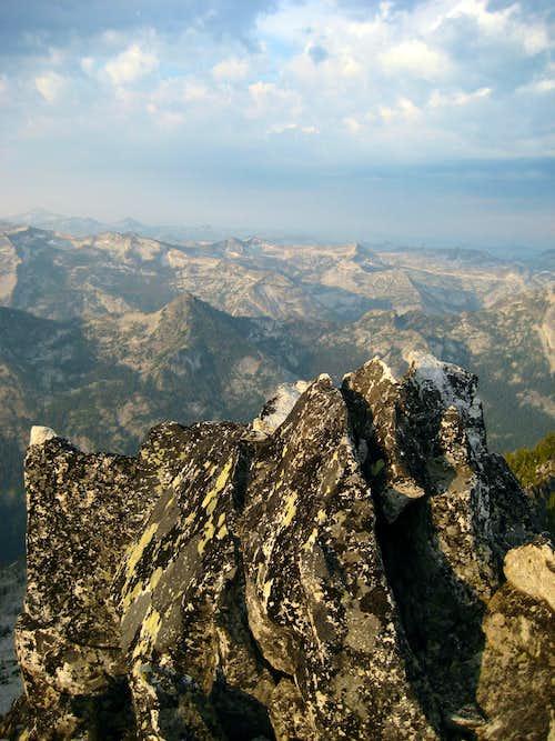 Summit of Canyon Peak