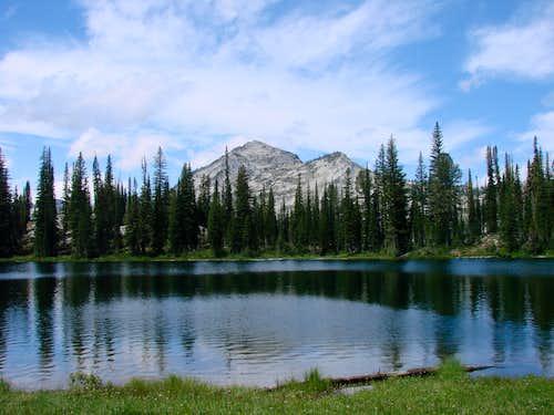 Uknown Peak from Bear Lake
