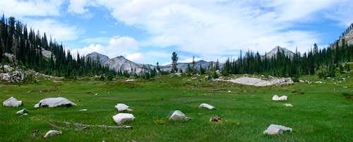 Meadows behind Bear Lake