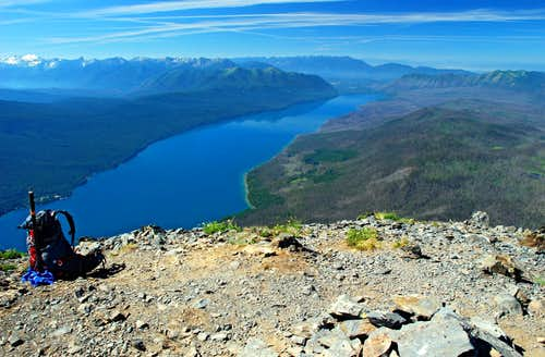 Lake McDonald from Summit