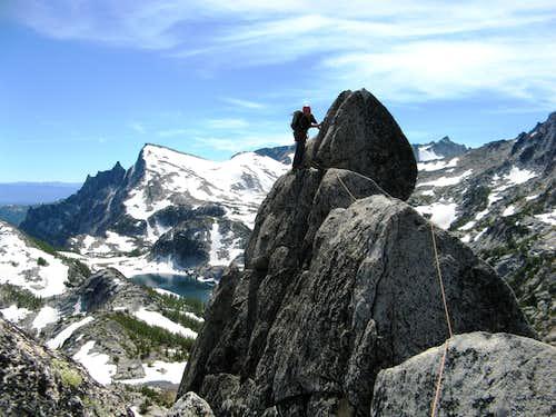 West Ridge of Prusik Peak