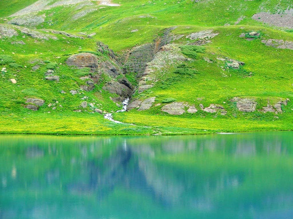 Blue Waters and Green Hills