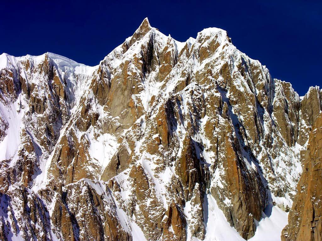 Mont Maudit, Kuffner Ridge