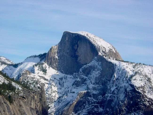 Half Dome in winter - Dec 7,...