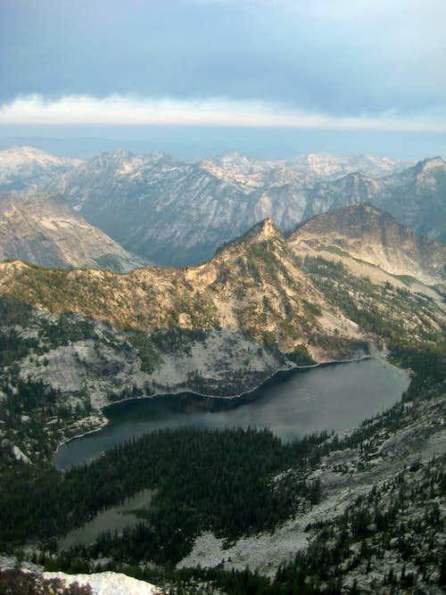 High Lake from Canyon Peak