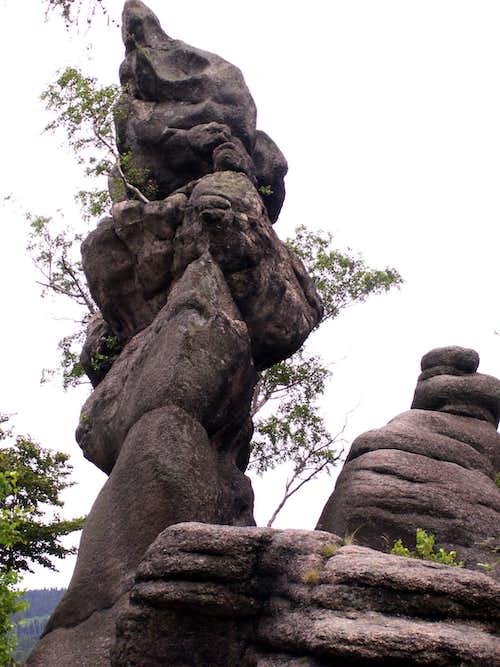 Rocks of the Rudawy Janowickie Mts. -