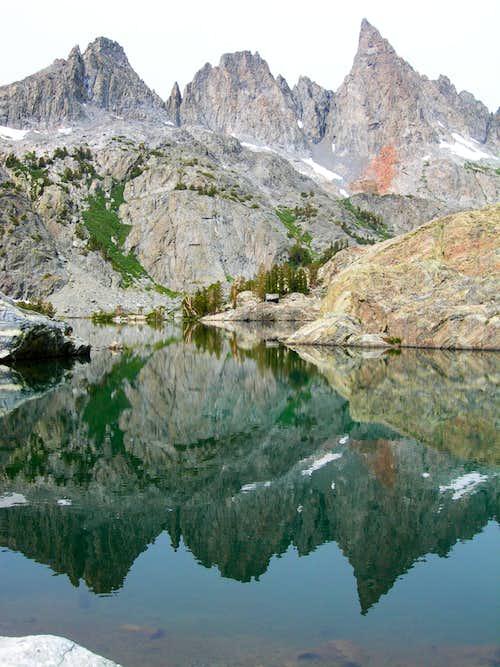 From Minaret Lake