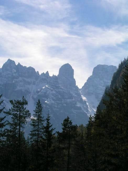 Monte Cristallo from Dürrensee.
