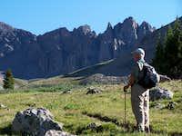 Contemplating La Plata Peak