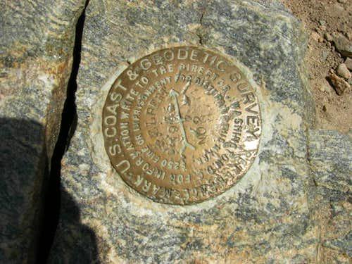 Mt. Elbert Marker