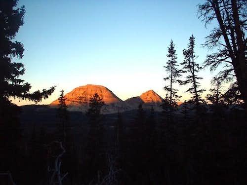 Bald Mountain (on the left)...
