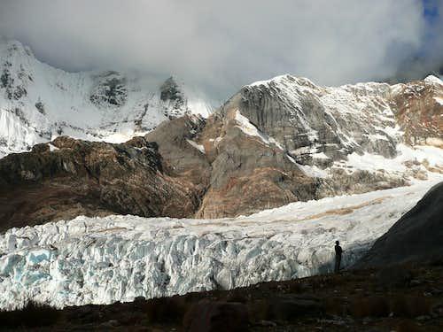 West Yerupaja Glacier