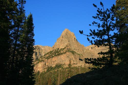 Morning Shot of Little Matterhorn