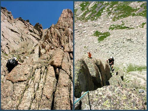 "Split View or ""Who\'s on belay ???"""