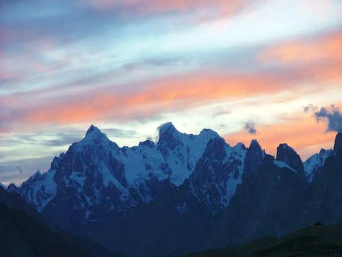 Amazing view of Baltoro, Karakoram, Baltistan