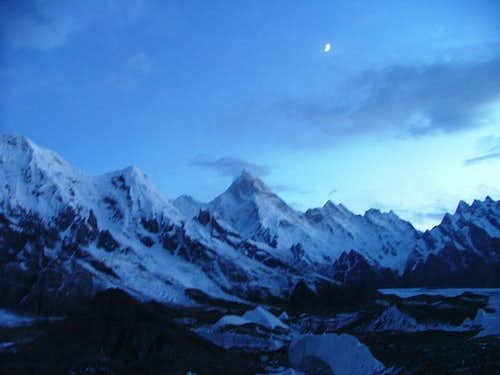 Another Beuatiful View of , Baltoro Glacier, Karakoram, Baltistan