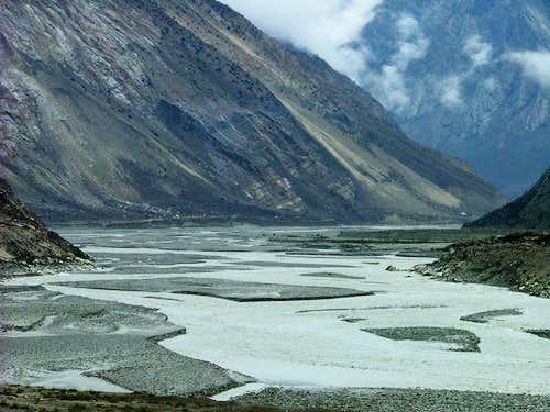 Way to Baltoro, Karakoram, Baltistan
