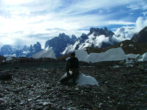 Another view of Baltoro Glacier, Karakoram, Baltistan