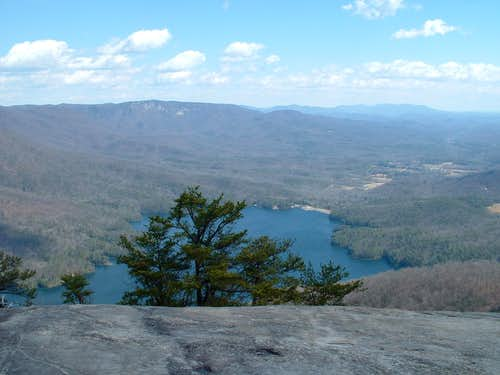 view from Table Rock SC