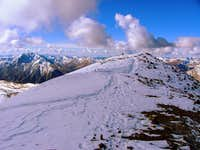Mount Elbert`s summit.