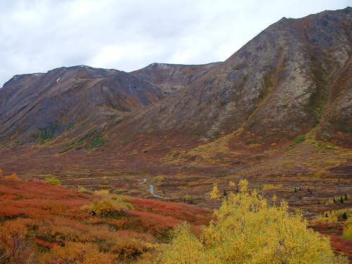 The beuatiful Hanging Valley, Chugach Range