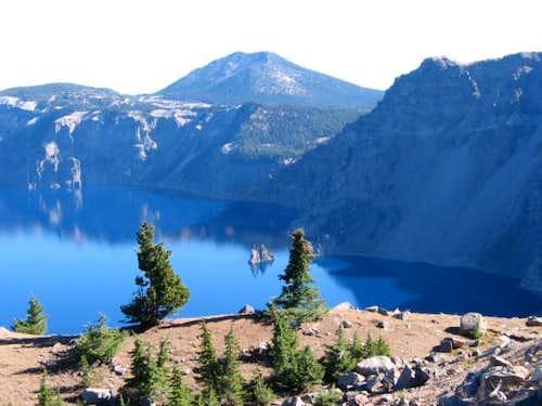 Mt. Scott from Garfield Peak....