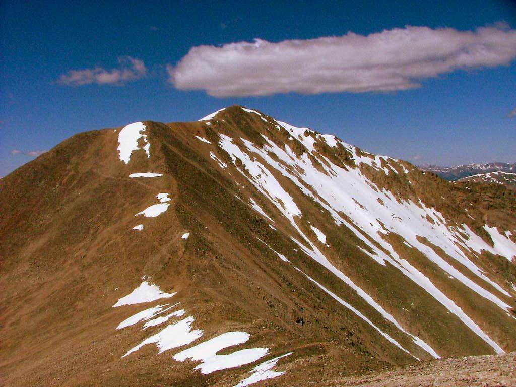 Mount Democrat, Colorado.
