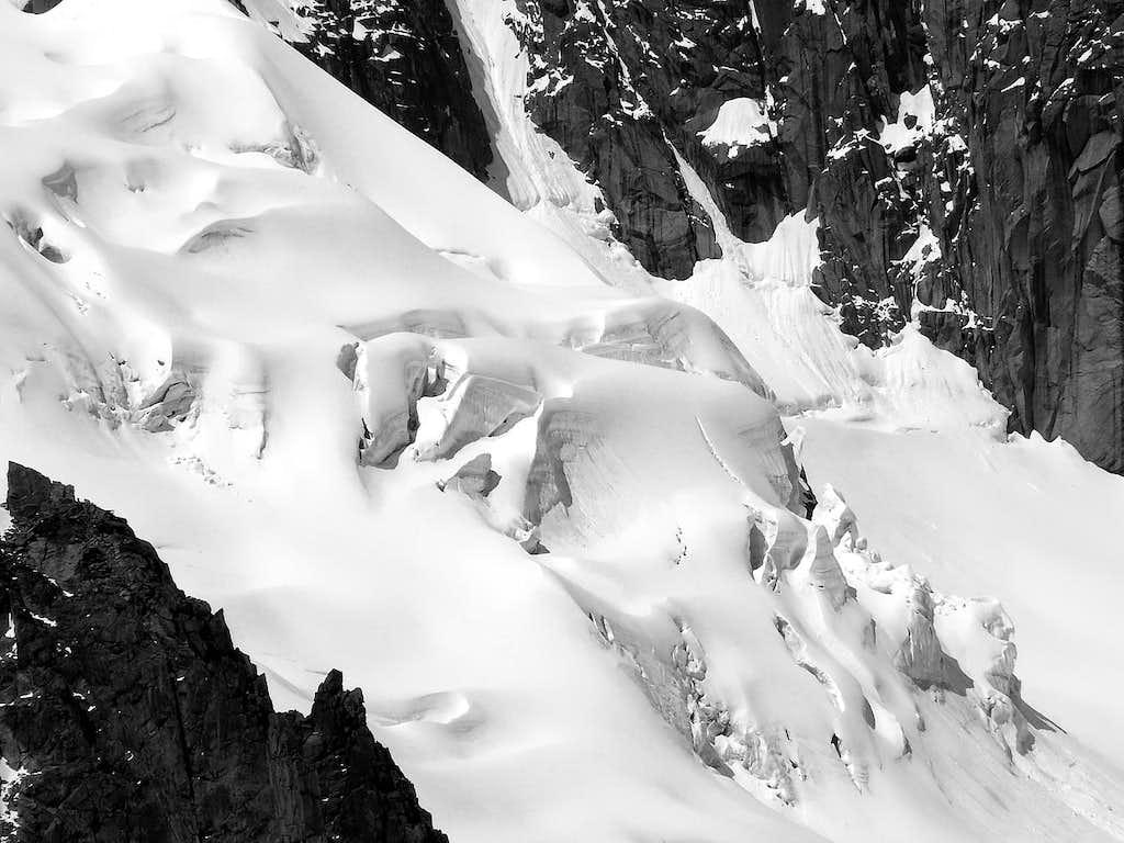 Glacier de la Vallée Blanche (Monte Bianco)