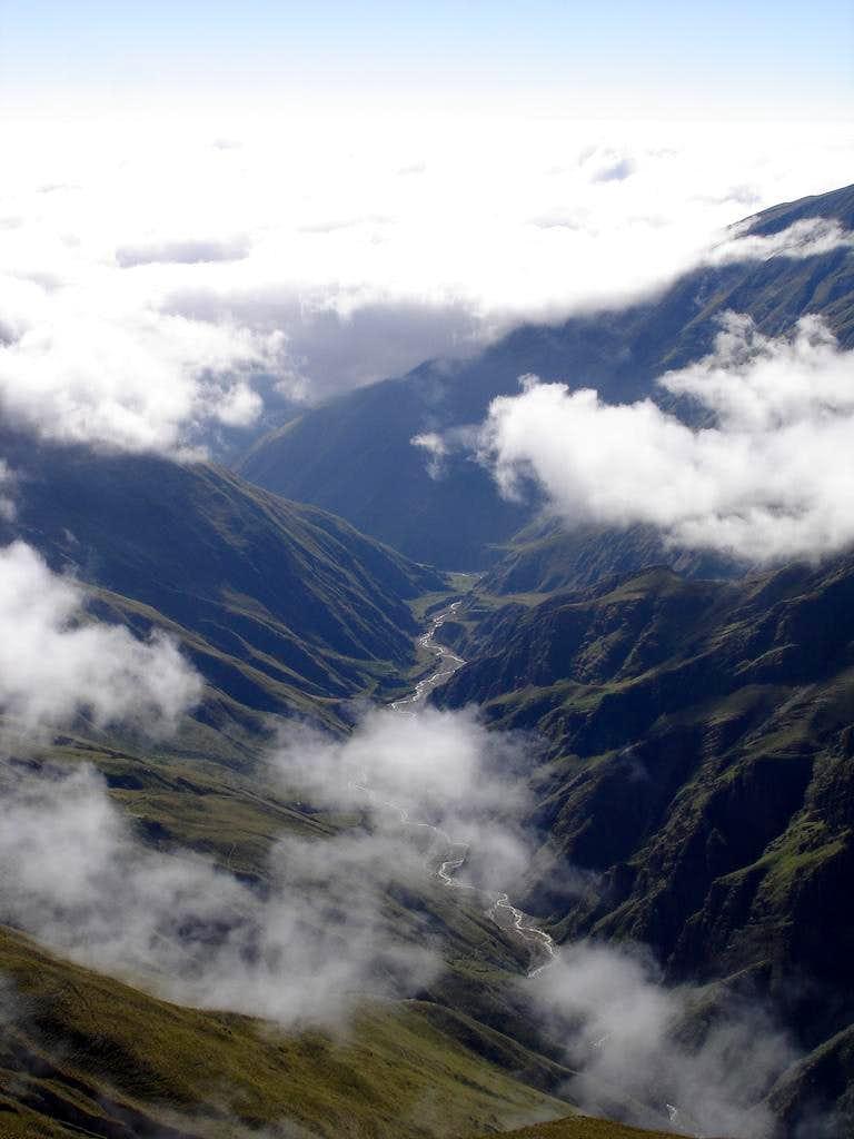 Quebrada de Rio Leon