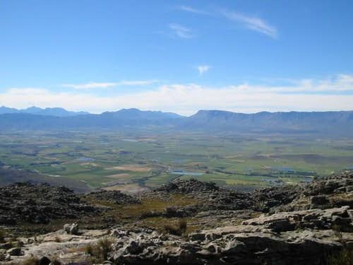 View of the Ceres valley from...