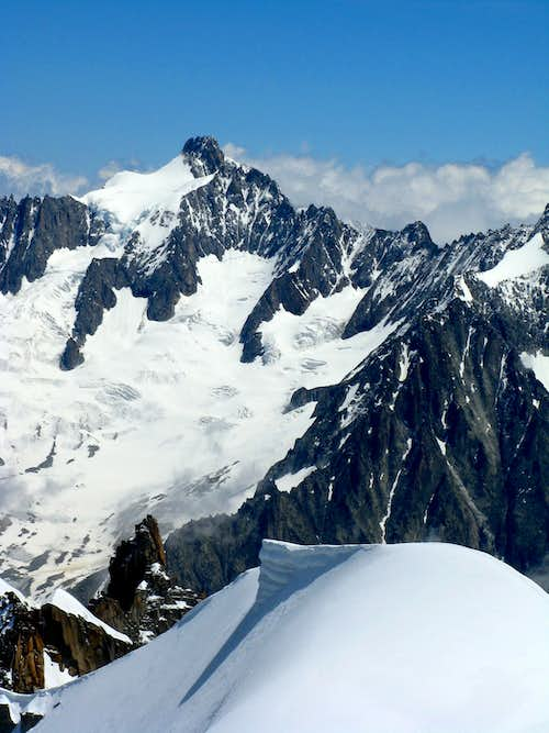 View from Vallee Blanche