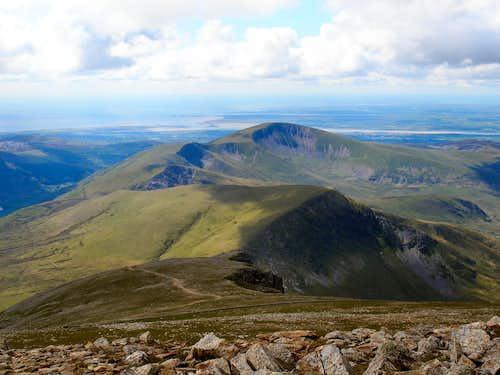 Snowdon's lesser peaks