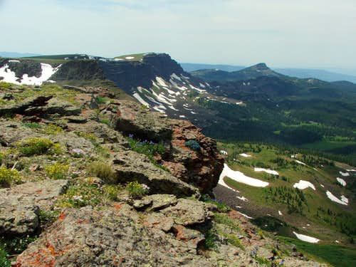 Orno Peak Summit View
