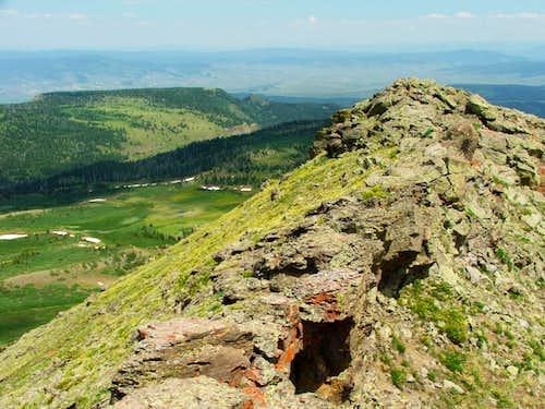 Orno Peak Summit Views