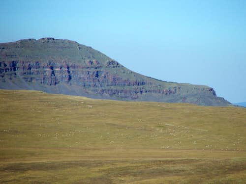 Orno Peak from the Devil\'s Causeway