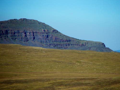 Orno Peak from the Devil's Causeway