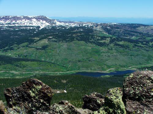 Orno Peak From Flat Top Mountain