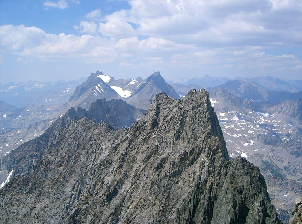 Impressive Knife Edge Summit of Norman Clyde Peak