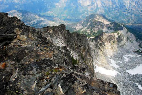North Ridge from Summit
